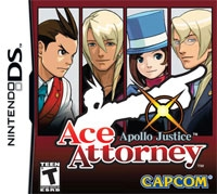 Carátula de Ace Attorney: Apollo Justice