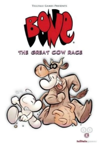 Carátula de Bone: The Great Cow Race