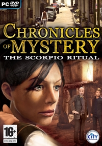 Carátula de Chronicles of Mystery: The Scorpio Ritual