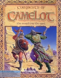 Carátula de Conquests of Camelot: The Search for the Grail