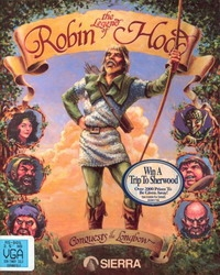 Carátula de Conquests of the Longbow: The Legend of Robin Hood