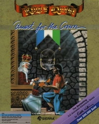 Carátula de King's Quest I: Quest for the Crown