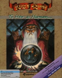 Carátula de King's Quest III: To Heir is Human