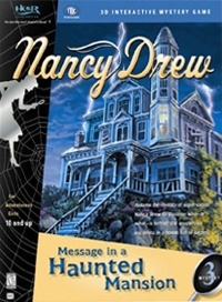 Carátula de Nancy Drew 3: Message in a Haunted Mansion
