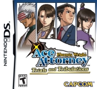 Carátula de Phoenix Wright: Ace Attorney - Trials and Tribulations