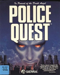 Carátula de Police Quest: In Pursuit Of The Death Angel (VGA)
