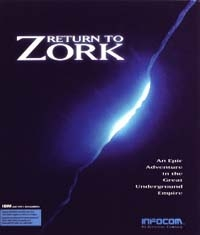 Carátula de Return to Zork