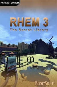 Carátula de Rhem 3: The Secret Library