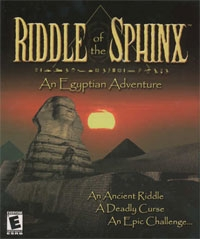 Carátula de Riddle of the Sphinx: An Egyptian Adventure