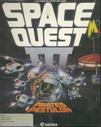 Carátula de Space Quest III : The Pirates of Pestulon