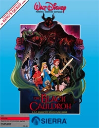 Carátula de The Black Cauldron
