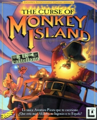 Carátula de The Curse of Monkey Island