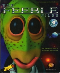 Carátula de The Feeble Files