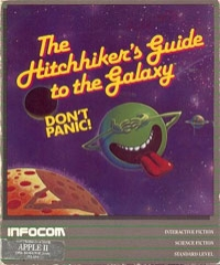 Carátula de The Hitchhiker's Guide to the Galaxy