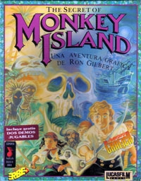 Carátula de The Secret of Monkey Island