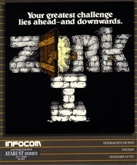 Carátula de Zork: The Great Underground Empire